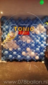 Toy Story verjaardagsdecoratie (okt. 2017)